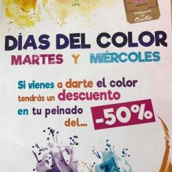 Días del color martes y miércoles